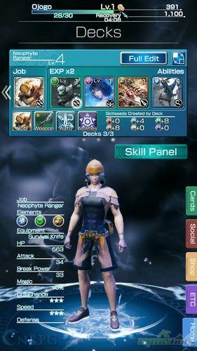 Final Fantasy Mobius Mobile Review