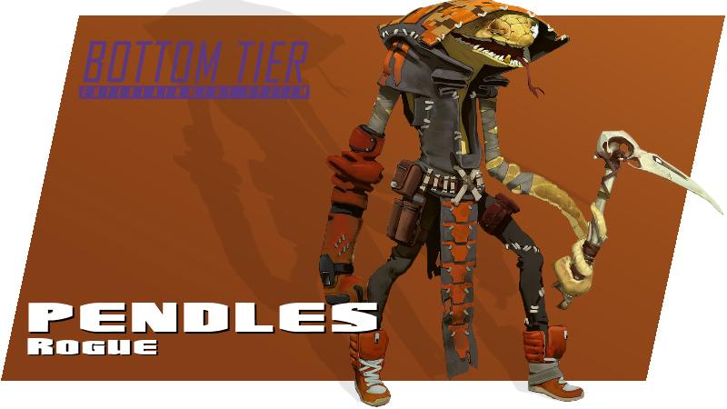 Battleborn Pendles Spotlight w/Bottom Tier