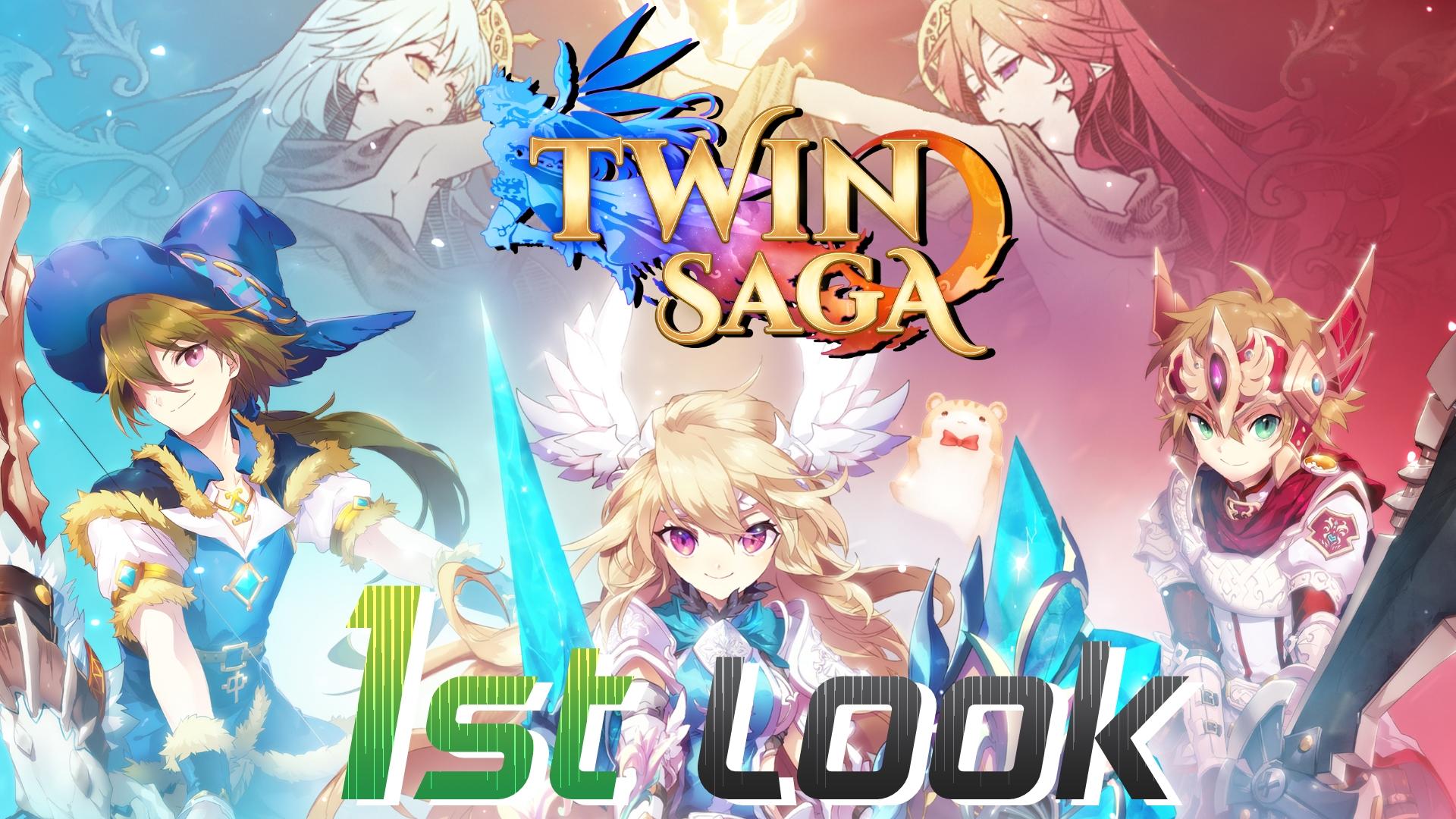Twin Saga First Look Two