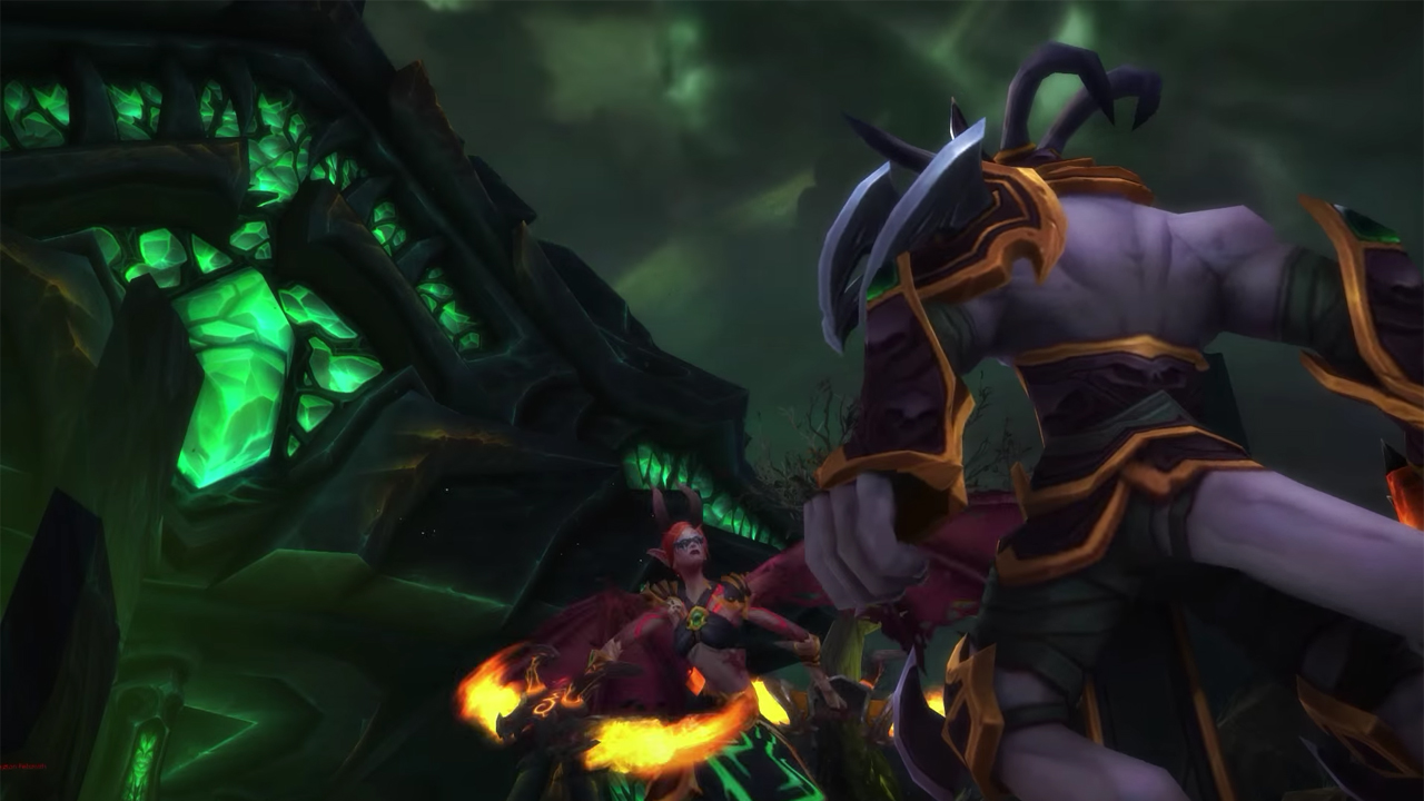 WoW Demon Hunter Trailer