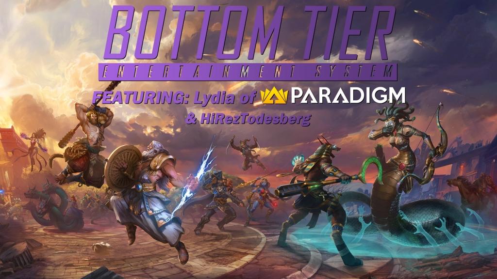 Bottom Tier LIVE: Smite Q&A with Lydia of Paradigm & HiRezTodesburg
