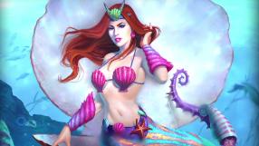 Smite Sea Maiden Medusa Skin Preview