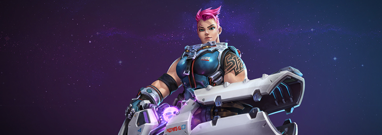 Heroes of the Storm Introduces Zarya and Warhead Junction