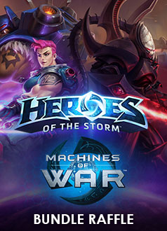 Heroes of the Storm Machines of War Bundle Raffle