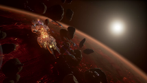 Fractured Space Launch Features