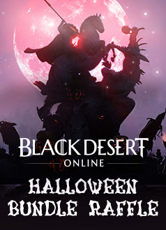 Black Desert Halloween Bundle Raffle