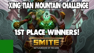 $20,000 SMITE XING TIAN CHARITY CHALLENGE VICTORY!