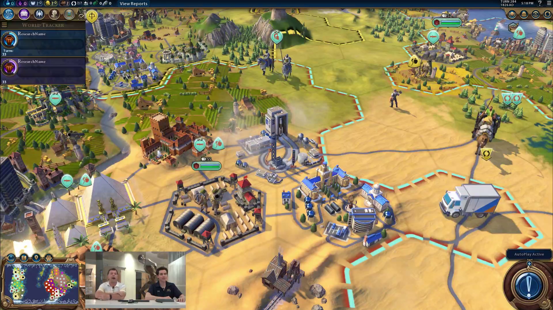 Civilization VI Prelaunch AI Analysis