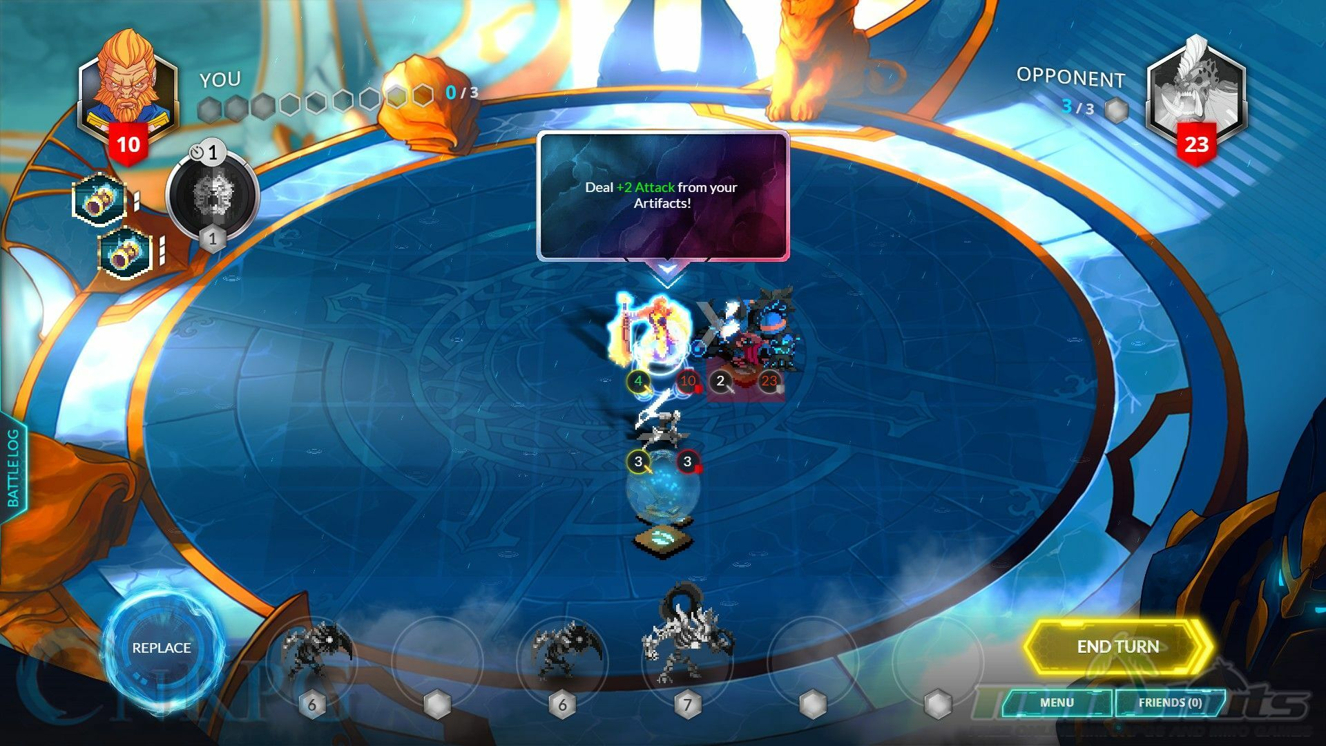 Duelyst Review - Board Game Tactics Meets CCG Goodness