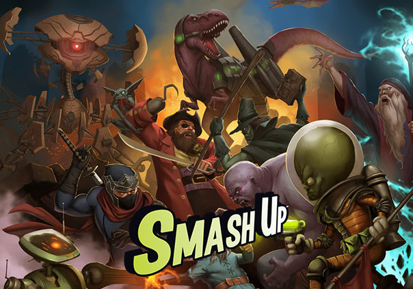 Smash Up Game Profile Banner