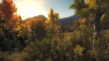 theHunter Timbergold Trails Trailer