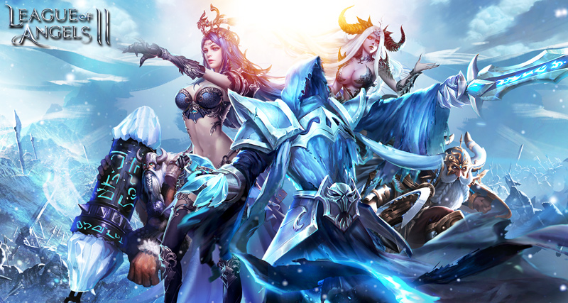 League of Angels II - Eternal War Ignites Sapphire