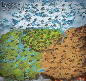 League of Angels II - Eternal War Map