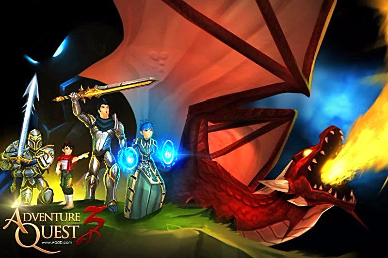 AdventureQuest 3D Open Beta Now on iOS