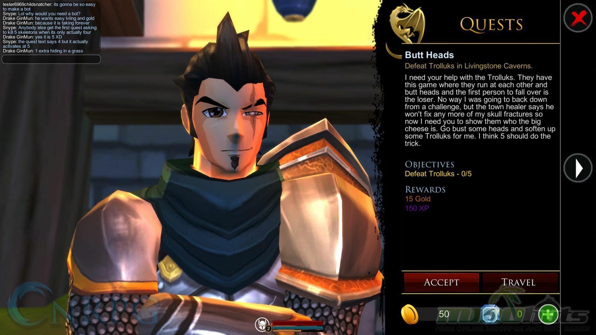 Adventure Quest 3D Open Beta Initial Review