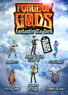 Forge of Gods Fantastic Six Pack Giveaway