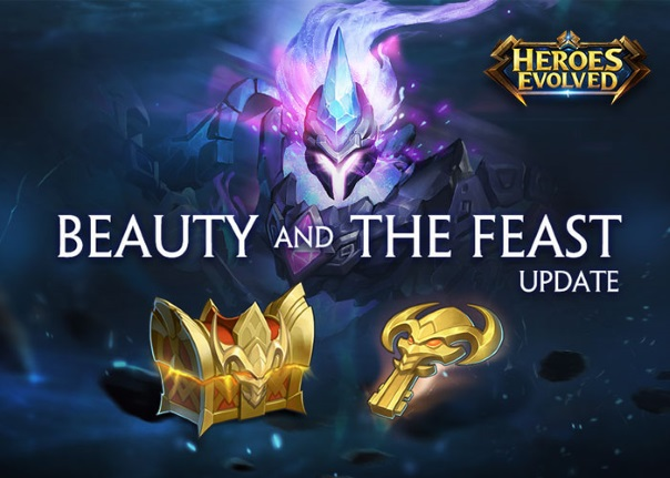 Heroes Evolved Beauty and the Feast Update Launches