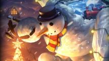 SMITE Snowman Geb Skin