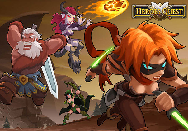 Heroes Quest Game Profile Banner