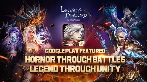Legacy of Discord News - Featured on Google Play Once Again