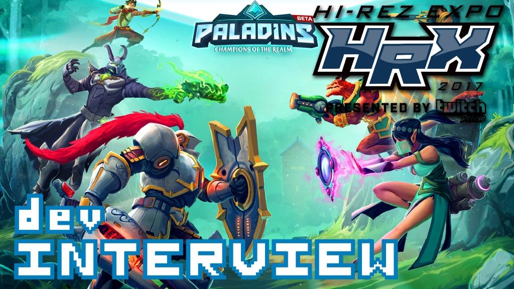 Paladins - Hi-Rez Expo Developer Interview