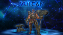 SMITE Full Metal Vulcan Skin Preview