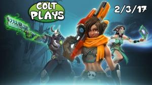 Colt Plays Paladins 2-3-17