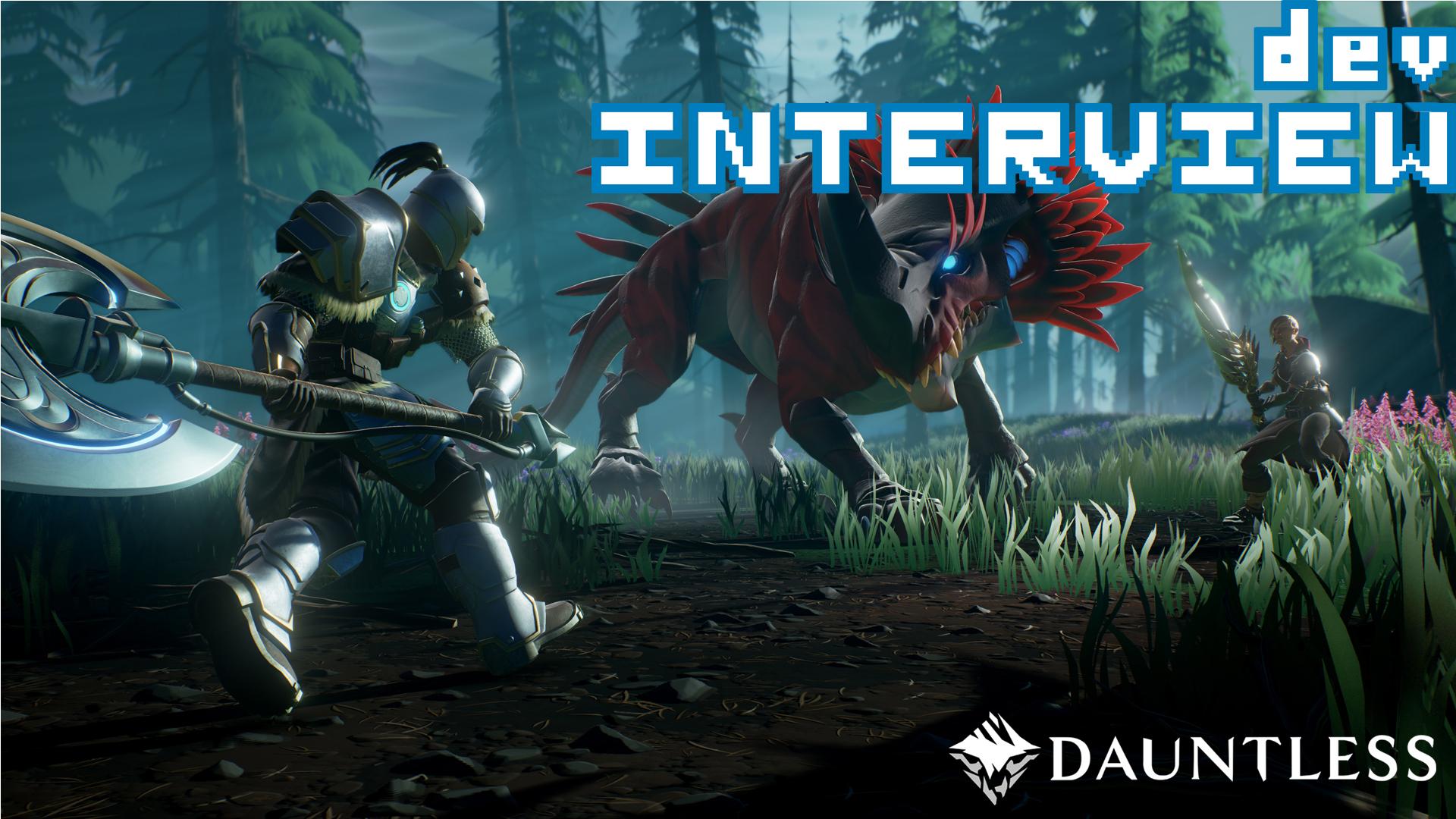 Dauntless Dev Interview PAX South 2017