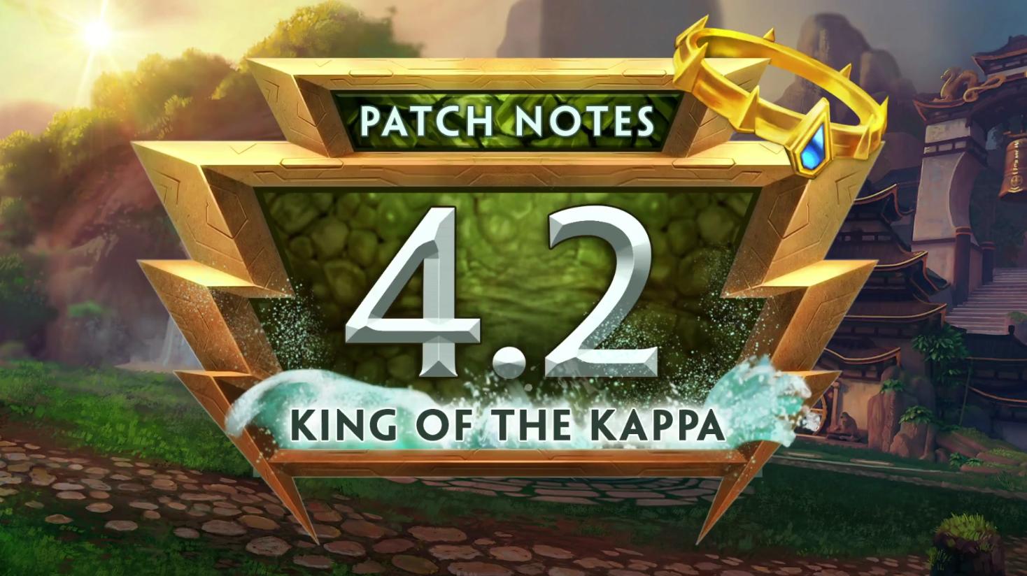 SMITE 4.2 King of the Kappa Patch Recap