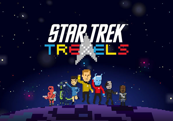 Star Trek Trexels Game Profile Banner