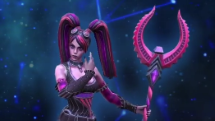 SMITE Twisted Metal Morrigan Skin Preview