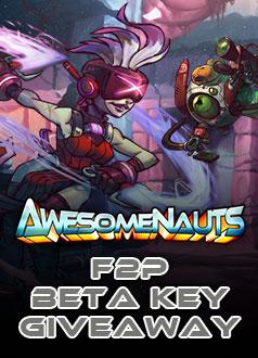 Awesomenauts_F2P-BetaKey-Giveaway-MMOHuts-Homepage