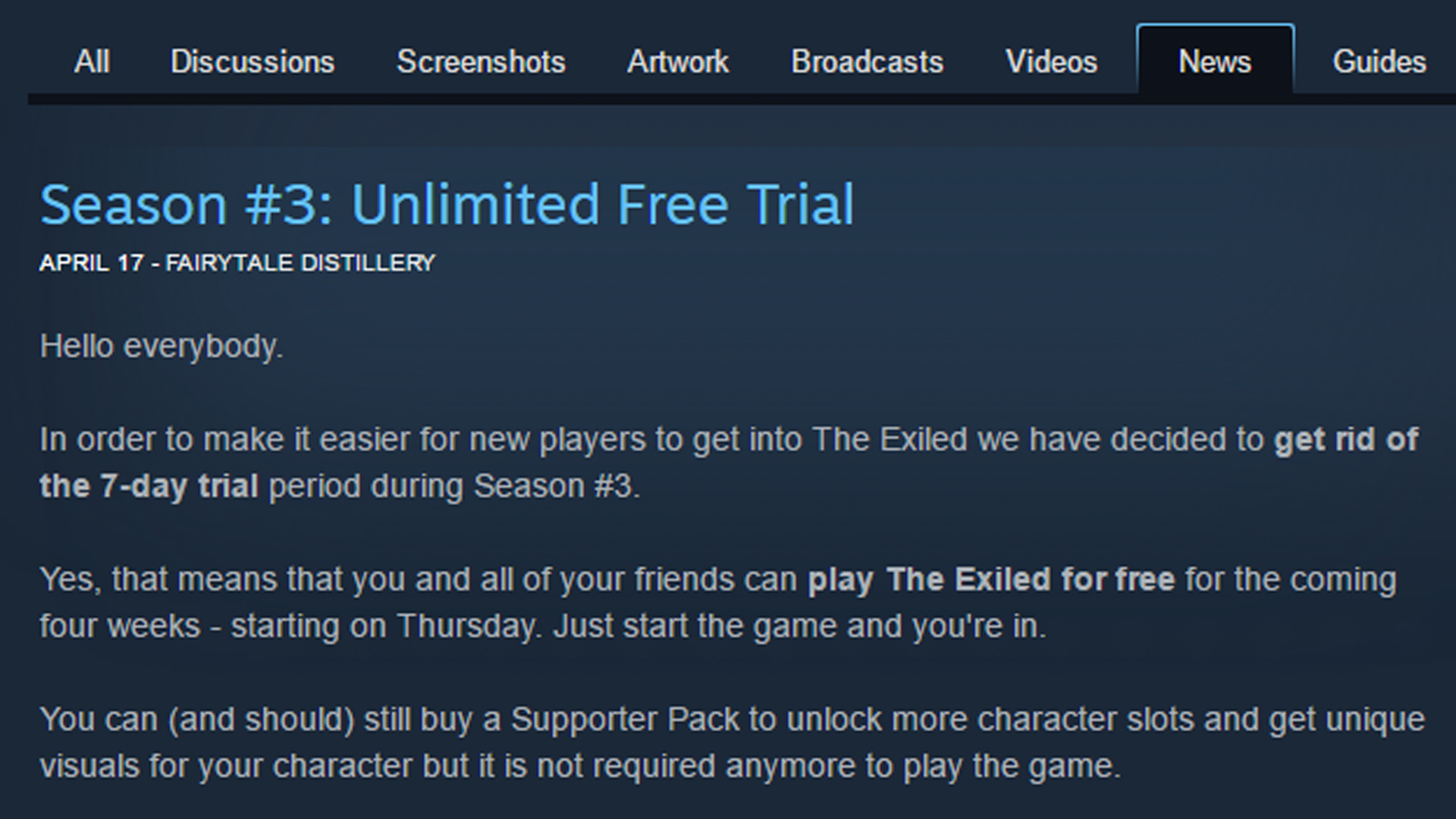The Exiled 2017 Review