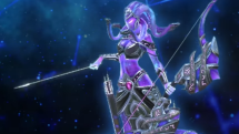 SMITE Nebula Medusa Skin Preview
