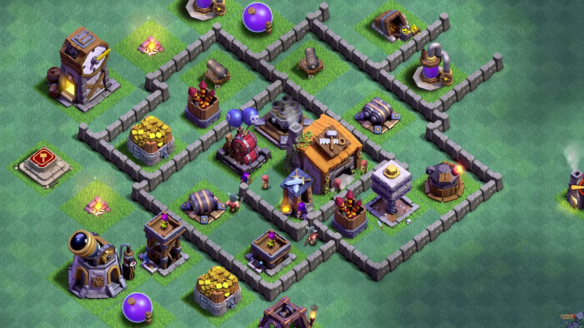 Clash of Clans_ Introducing Builder Hall Level 6! - YouTube