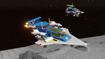 LEGO Worlds Classic Space Pack Trailer Thumbnail