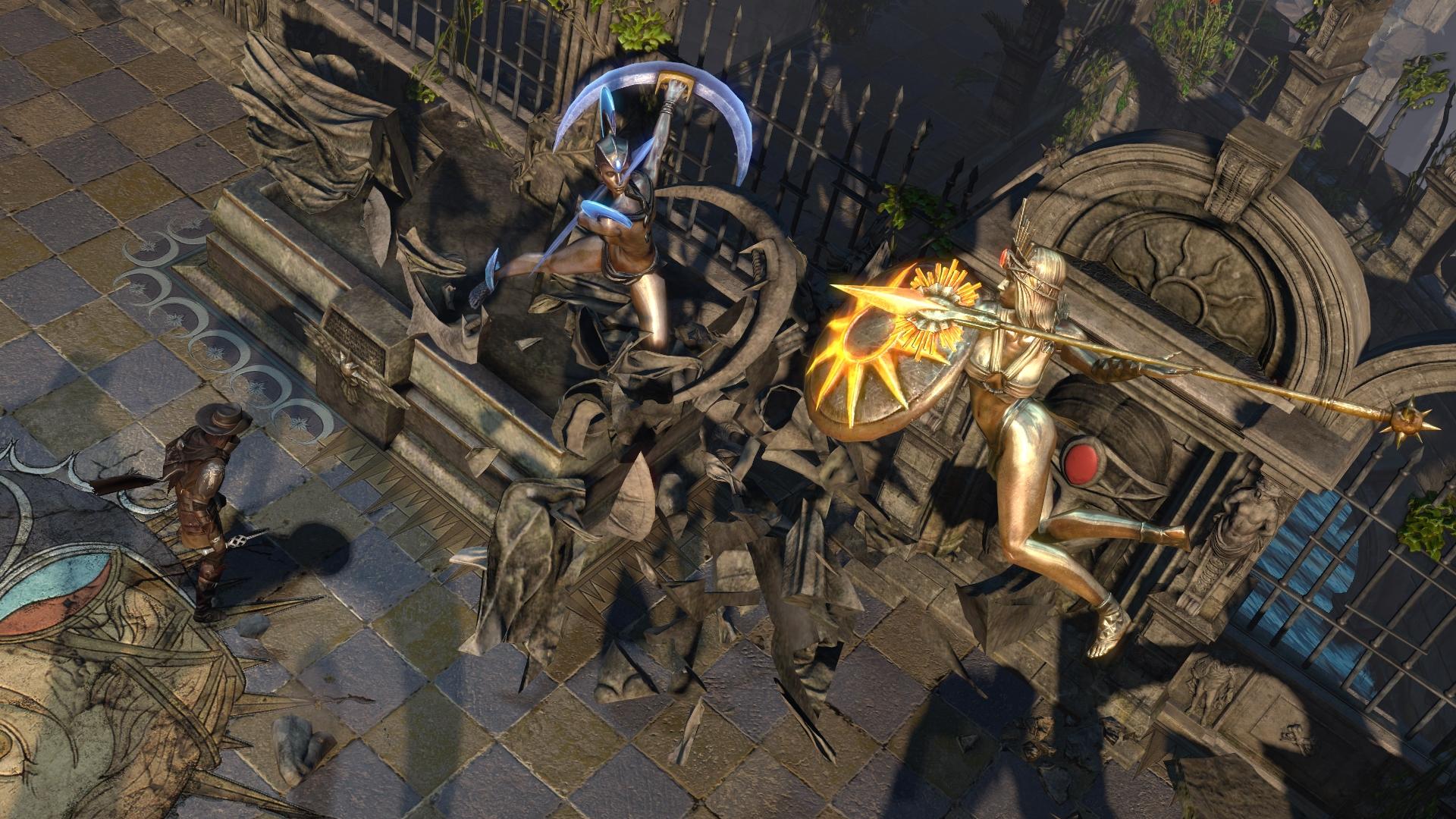 Path of Exile Solaris and Lunaris Screenshot