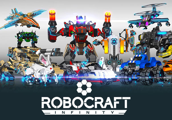 Robocraft Infinity Game Profile Banner