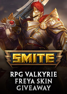 SMITE Trial of King Hercules - Valkyrie Freya Skin Giveaway