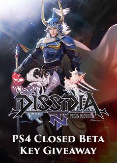 Dissidia Final Fantasy NT Closed Beta Key Giveaway Homepage Banner