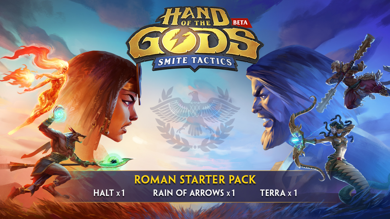 Hand of the Gods Roman Starter Pack Giveaway Information