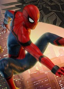 Spiderman Homecoming Marvel Heroes Omega Thumbnail
