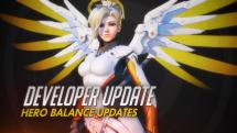Overwatch Developer Update: D.Va and Mercy Balance Updates Thumbnail