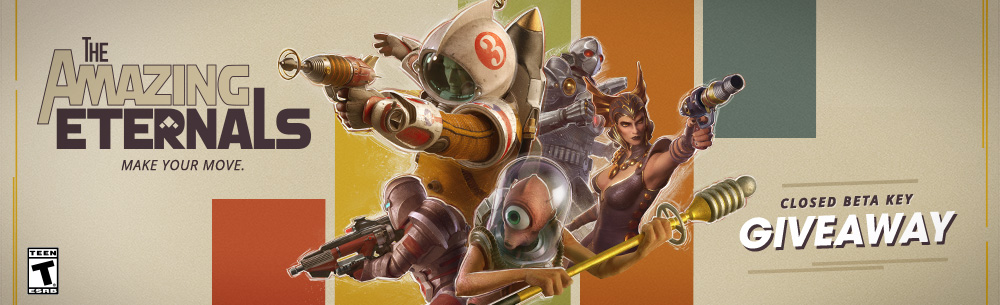 The Amazing Eternals Closed Beta Key Giveaway Banner