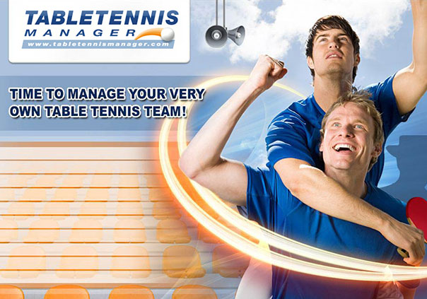 Table Tennis Manager Game Profile Banner
