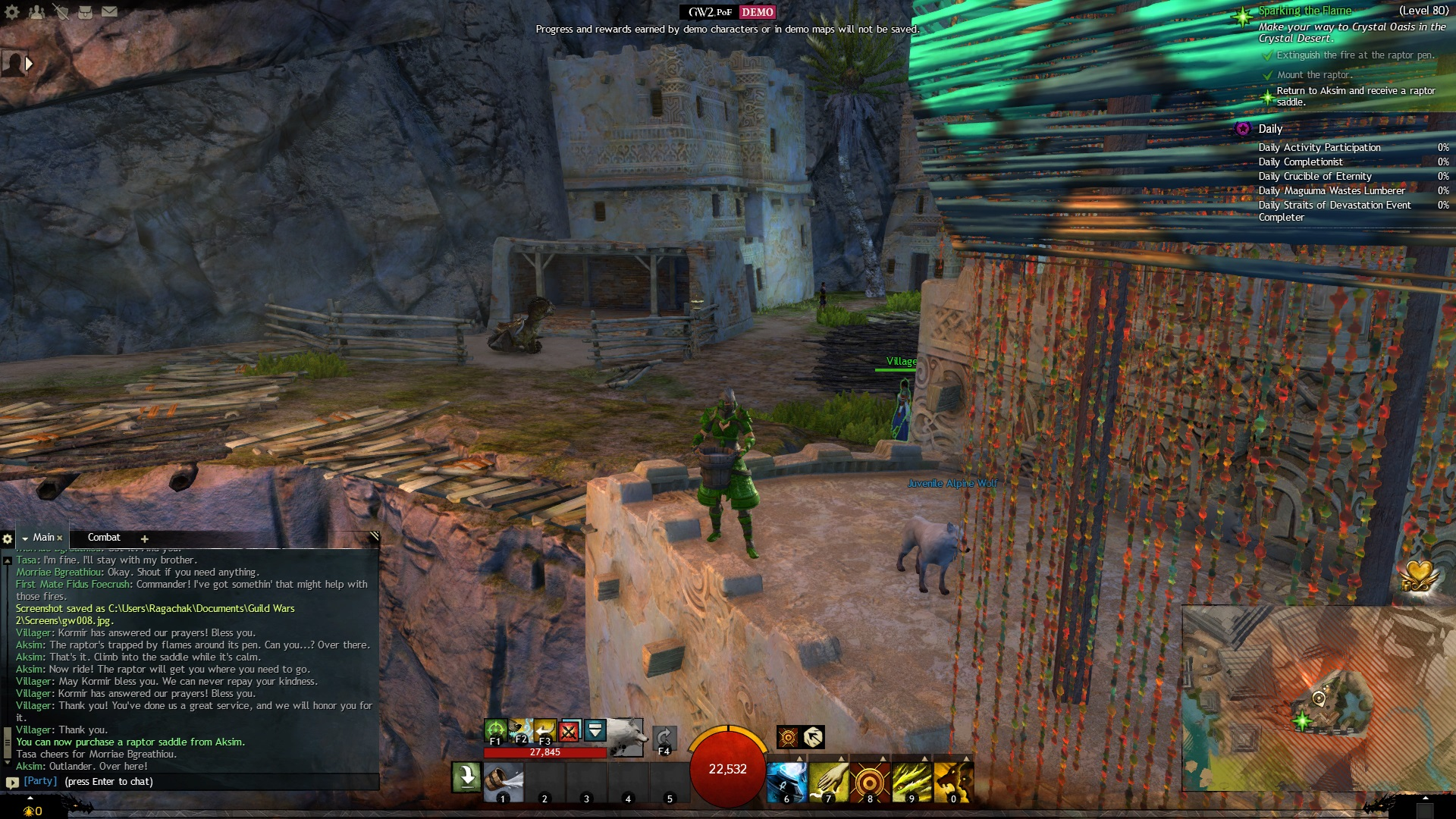 GW2: Path of Fire Demo