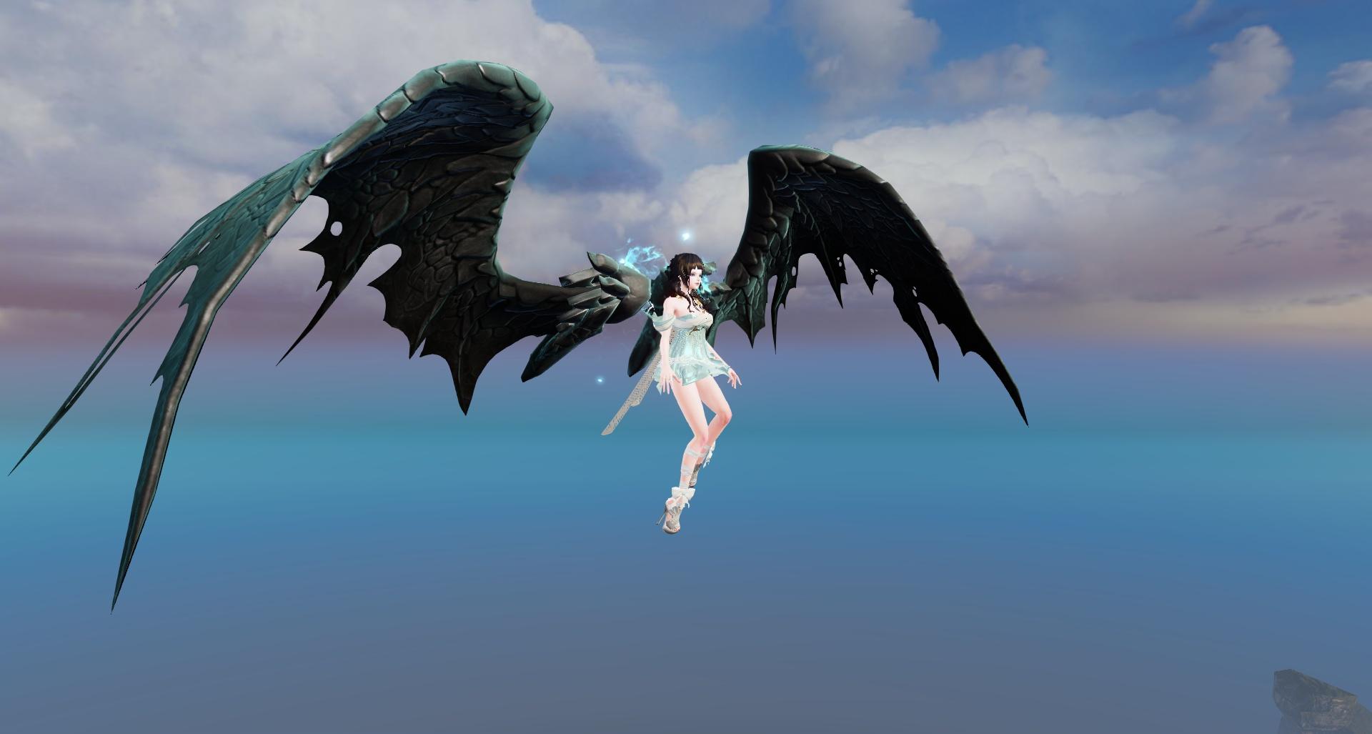 RO Nether Dragon Wings Screenshot
