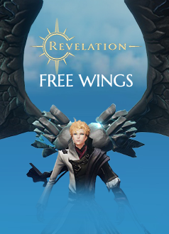 Revelation Online - Exclusive Dragon Wings Giveaway Banner