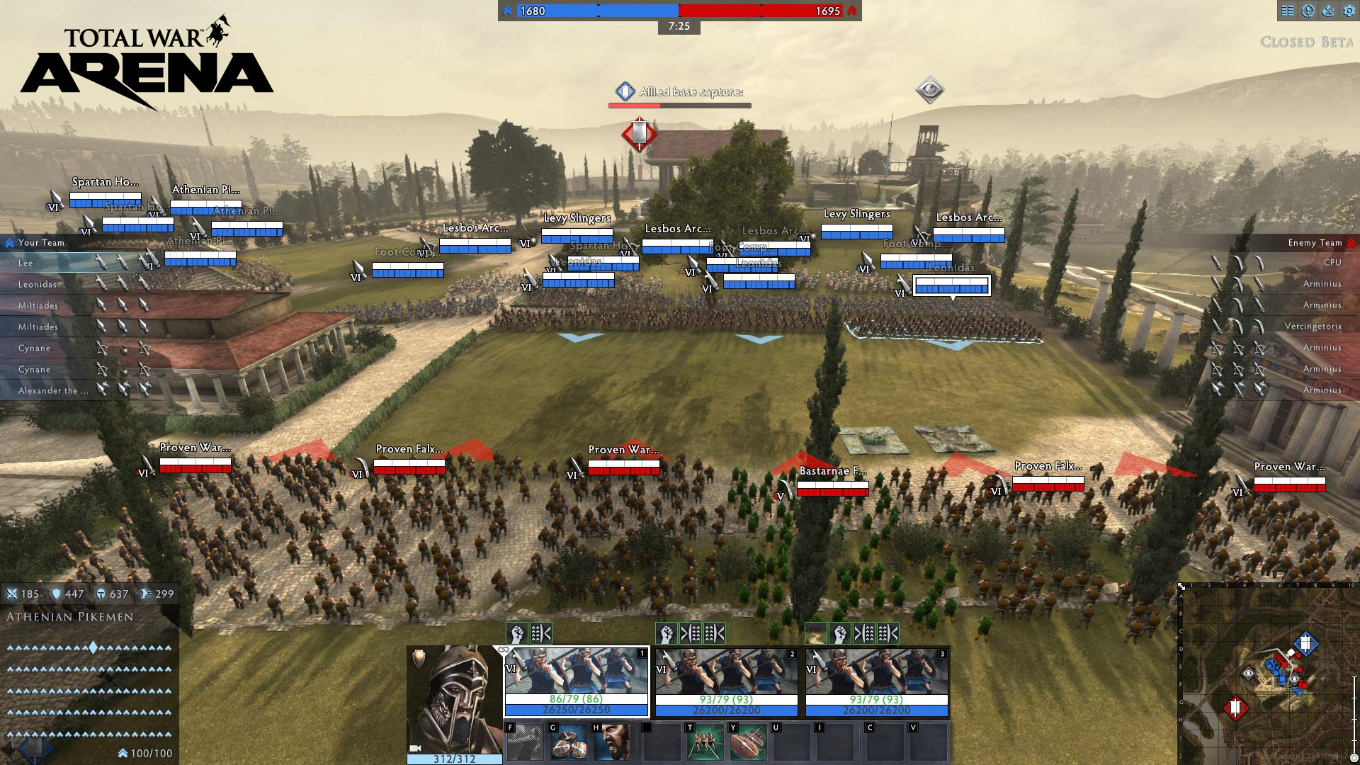 Total War Arena PAX Preview Battle Begins