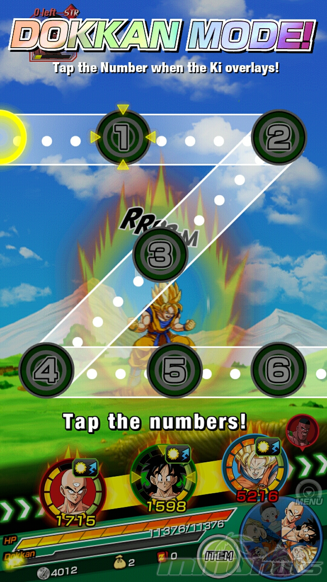 Dragon Ball Z: Dokkan Battle Review Screenshot